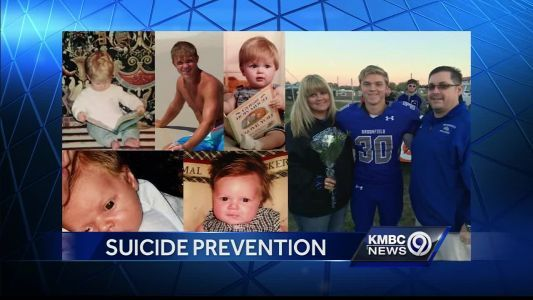 Mother talks suicide prevention at NKC High School