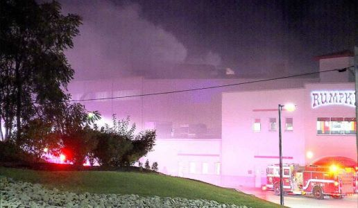 Fire at Rumpke Recycling Center forces workers to evacuate in St. Bernard