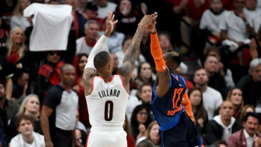 NBA playoffs 2019: Damian Lillard 'was just waving goodbye' to Thunder after buzzer-beater