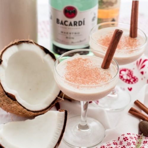 Puerto Rican Coquito Cocktail