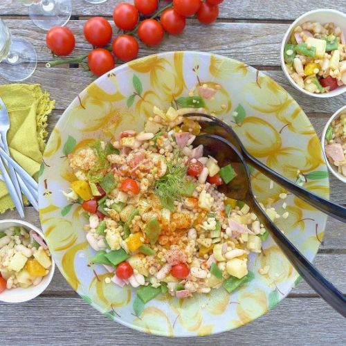Salad with Fennel and Beans