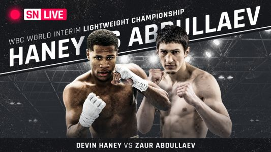 Devin Haney vs. Zaur Abdullaev results: Haney wins WBC interim lightweight title with boxing clinic