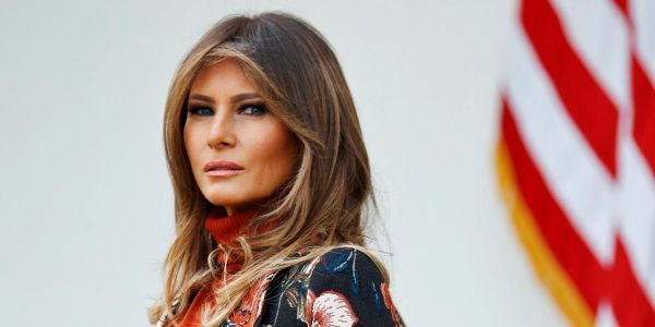 Melania Trump scraps plans to attend World Economic Forum in Davos with the president