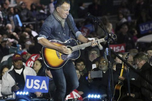 Democrats, Break Up With Bruce Springsteen