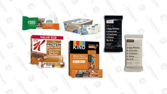 Stock Up on Discounted Protein Bars With Today's Gold Box