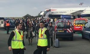 British Airways flight held at Paris airport amidst 'direct security threat'