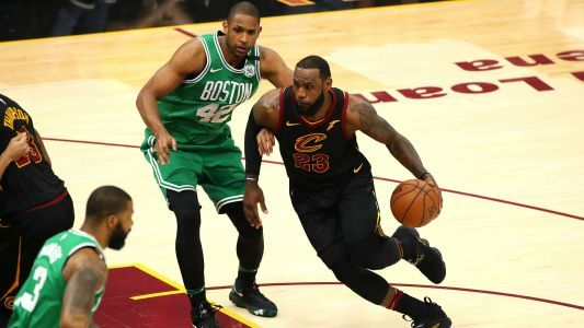 NBA playoffs 2018: LeBron James sets record for career postseason field goals