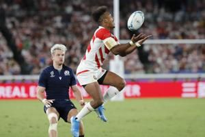 Stats show up style clashes in Rugby World Cup quarterfinals