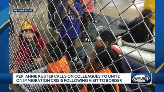 Kuster describes conditions on border as horrendous