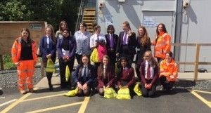 Stirling bridge project marks International Women in Engineering Day