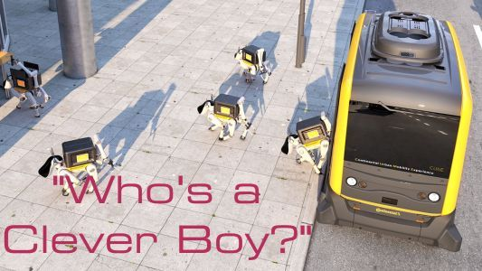 In The Future, These Cute, Dancing Robotic Electric Dogs Could Deliver Your Packages