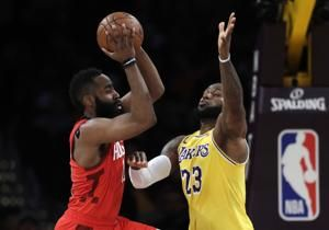 Rockets star Harden fined $25,000 for criticizing officials
