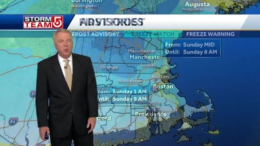 Mike's Chilly Forecast