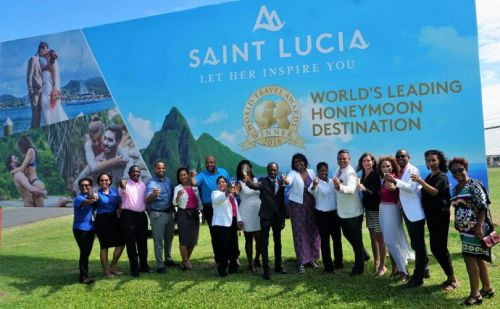 Saint Lucia named 2018 World's Leading Honeymoon Destination
