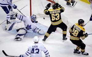 Bruins advance with 7-4 win over Maple Leafs in Game 7