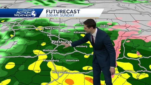 Heavy rain moving in tonight; high wind warning issued for Sunday