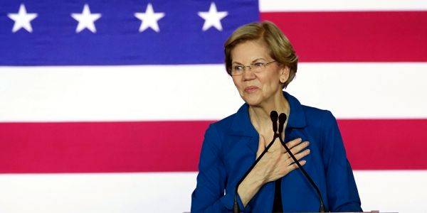 Elizabeth Warren swore off super PACS. One just launched to support her anyway, a sign of her campaign's precarious position