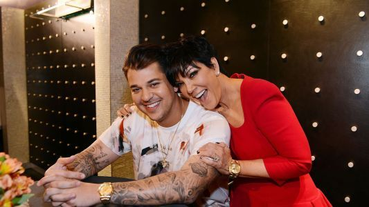 Rob Kardashian Was Reportedly Forced To Sell His Sock Line To Kris Jenner - And He's Blaming Blac Chyna, Obv