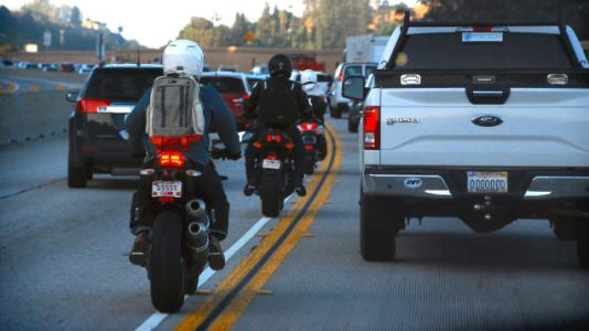 French Study Suggests Motorcycle Lane Splitting Can Lead To More Crashes