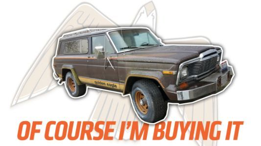 I'm Buying That 1979 Jeep Cherokee Golden Eagle Because It's Freaking Amazing