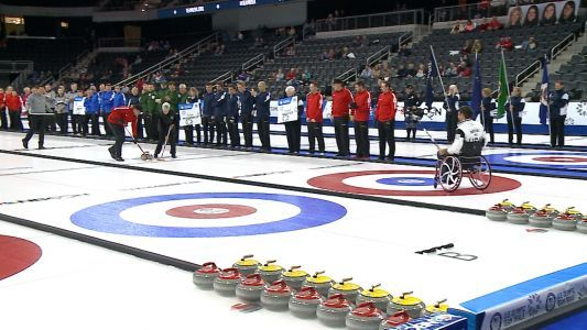 Opening ceremony kicks of U.S. Olympic Curling Trials