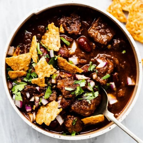 BEST Steak Chili Recipe