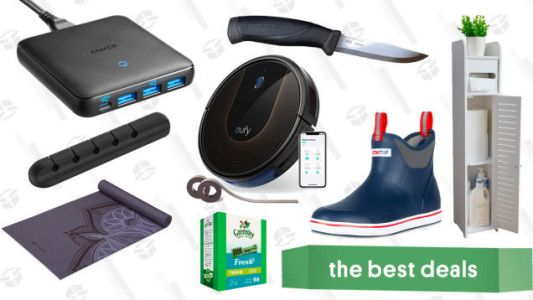 Friday's Best Deals: Eufy Robovac Bundle, XTRATUF Boots, Nintendo Switch Pro Controller, and More