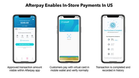 Afterpay will bring its in-store offering to the US this month