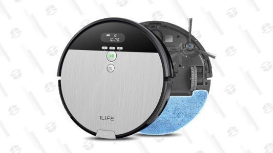 Try an ILIFE Mop and Vacuum Robot for $140 , Today Only