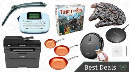 Monday's Best Deals: Board Games, Brother Printer, Copper Chef Cookware, and More