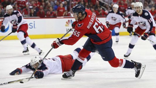 Andre Burakovsky injury update: Capitals F to have surgery, out for first round