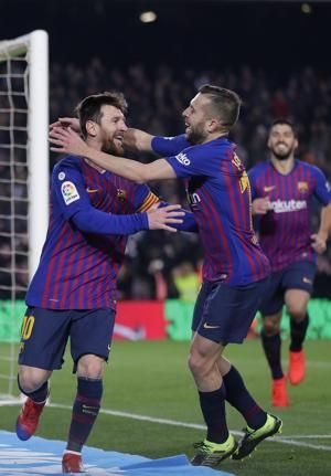 Messi comes off bench to help Barca beat Leganes 3-1