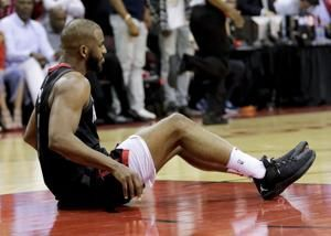 Houston's Chris Paul out for Game 6 vs Warriors with injury
