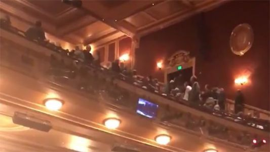 Man shouts 'Heil Hitler' during 'Fiddler on the Roof' show