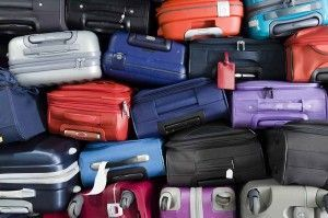 Ryanair flight cancellations caused luggage pile up