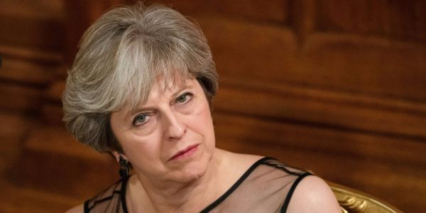 Theresa May accuses Russia of launching a 'fake news' war against the West