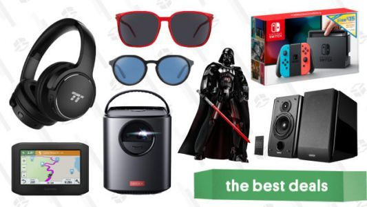 Friday's Best Deals: LEGO Darth Vader, Marmot, Nintendo Switch, Anker Projectors, and More