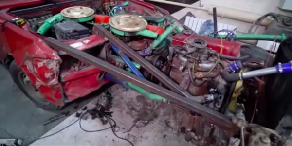 Here's What Happens When You Bolt Three Engines Together to Create One 12-Cylinder Monster
