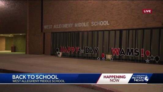 New intitatives mark first day of school at West Allegheny School District