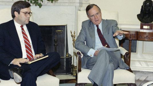 William Barr Supported Pardons In An Earlier D.C. 'Witch Hunt': Iran-Contra