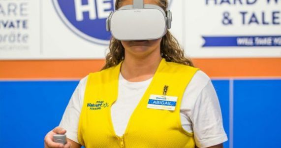 Walmart buys 17,000 Oculus Go VR headsets to train a million employees