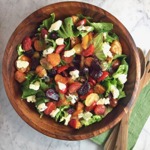 Escarole & Roasted Beet Salad
