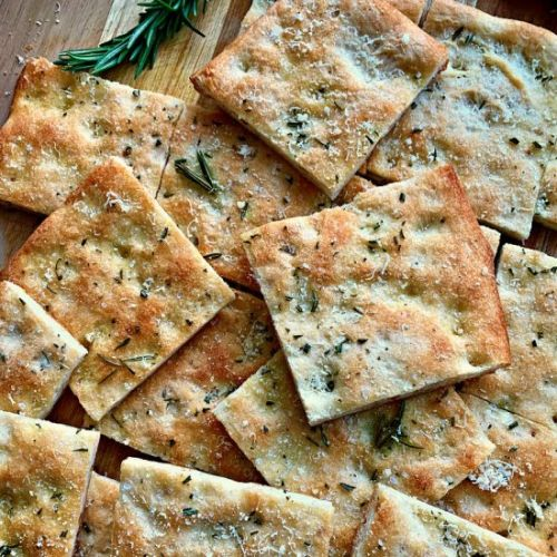Focaccia Bread - 5 ingredients