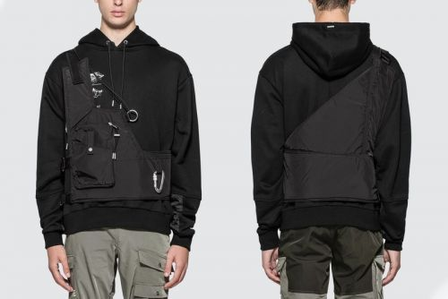 HELIOT EMIL's Asymmetrical Vest Adds Utilitarian Touch to Outfits