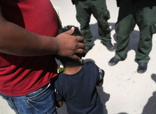 Migrant woman says federal authorities took her child as she was breastfeeding at the border