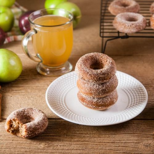 Easy Apple Cider Donuts