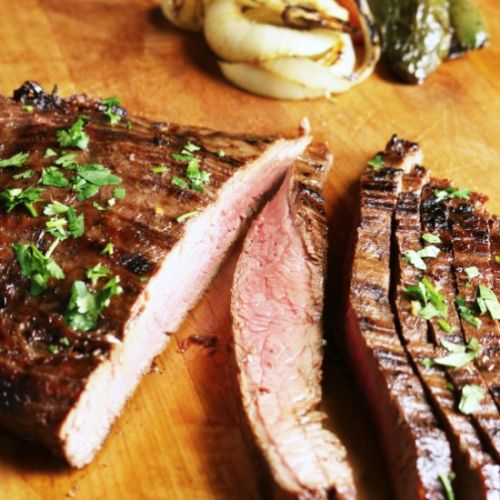 Easy Grilled Marinated Flank Steak