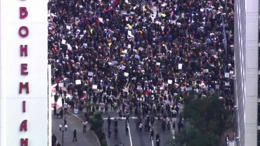 Orlando protests continue as huge crowds attend downtown rally