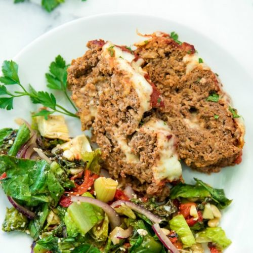Cheesy Italian Meatloaf Recipe