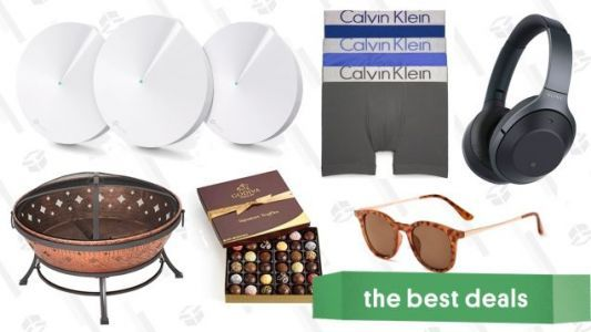 Sunday's Best Deals: Calvin Klein Underwear, Noise-Canceling Headphones, Mesh Routers, and More